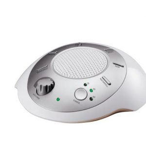 HoMedics-SS-2000-Sound-Spa-Relaxation-Sound-Machine-with-6-Nature-Sounds-Silver-0