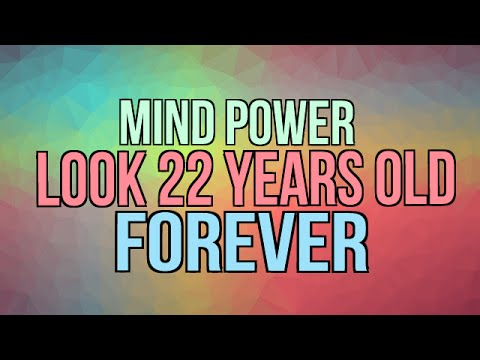 Look 22 Years Old Forever – Reverse Age to 22 and Stay Youthful Forever – Subliminal Affirmations