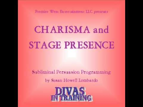 CHARISMA AND STAGE PRESENCE FOR SINGERS  (SUBLIMINAL PERSUASION)  POWERFUL EFFORTLESS TRANSFORMATION