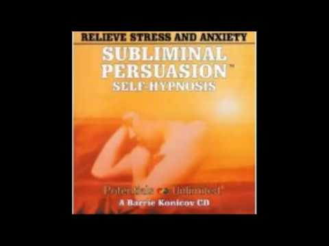 Relieve Stress  Anxiety A SubliminalSelf Hypnosis Program Subliminal Persuasion Self Hypnosis