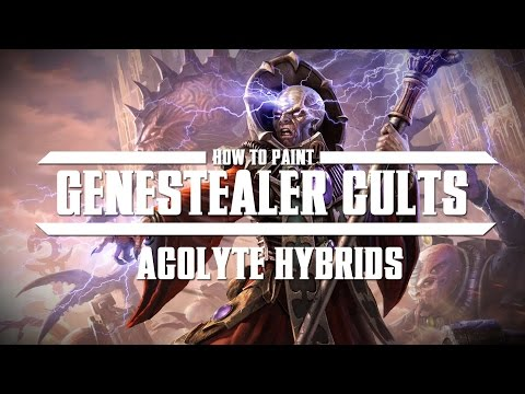 How to paint Genestealer Cults – Acolyte Hybrids.