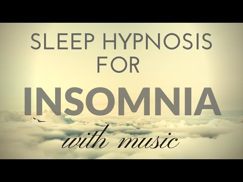 SLEEP HYPNOSIS for INSOMNIA with MUSIC & Darkened Screen for SLEEP