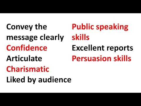 Subliminal: Improve Public Speaking Skills, Excellent Presentations, Persuasion, Charisma