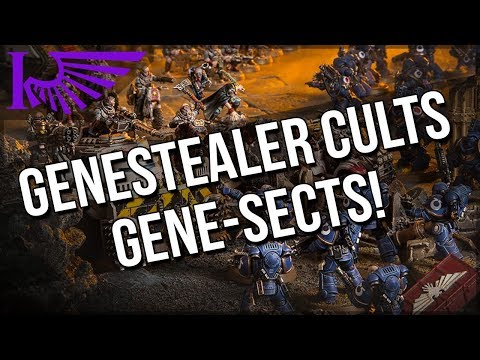 Genestealer Cults Previews – Gene-Sects! Plus Small Channel/Personal Update