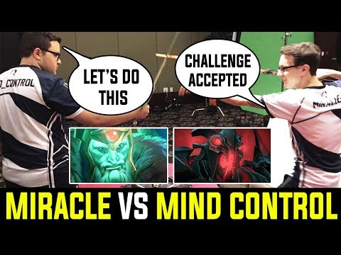 Miracle [ShadowFiend] Vs Mind-Control [Wrath King] – Challenge Accepted 23 Min GG Dota 2