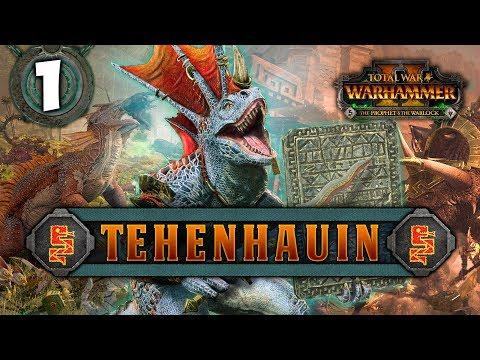 THE CULT OF SOTEK RISES! Total War: Warhammer 2 – Lizardmen Campaign – Tehenhauin #1