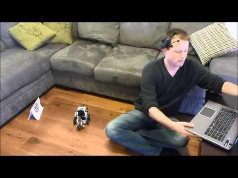 Mind Control of Lego NXT Telepresence Robot