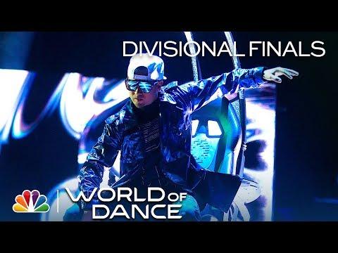 "Poppin John Crushes ""Universal Mind Control (UMC)"" Routine – World of Dance 2019 (Full Performance)"