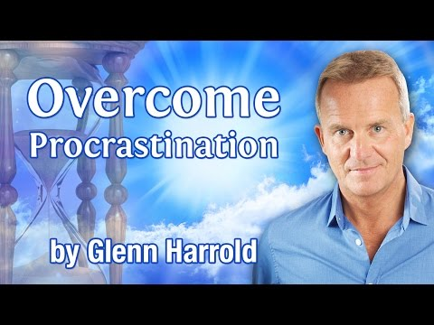 Overcome Procrastination Hypnosis & Guided Meditation by Glenn Harrold
