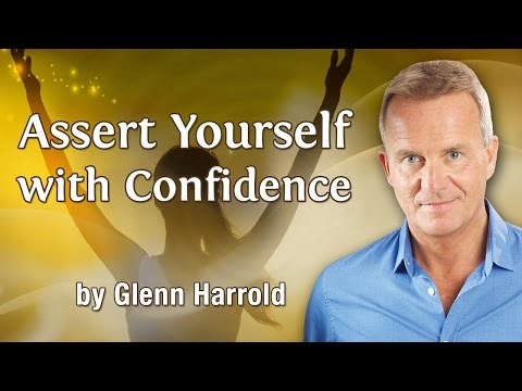 Assert Yourself With Confidence – Hypnosis Meditation and Mindfulness for Strength & Assertiveness