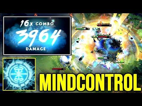 MINDCONTROL Earthshaker 4K Damage Echo Slam Combo – War Machine 7.22 Dota 2