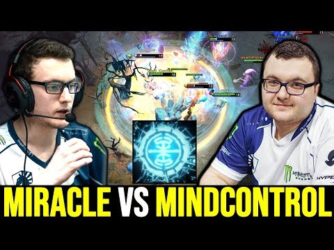 MIRACLE vs MINDCONTROL – Beautiful MVP Earthshaker Plays 7.22 Dota 2