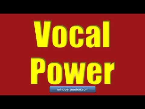Vocal Domination – Mesmerize, Persuade and Seduce The World – Deep, Resonant Voice
