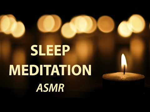 ASMR Guided Meditation for Sleep ☽ Hypnosis Whisper & Deep Relaxation