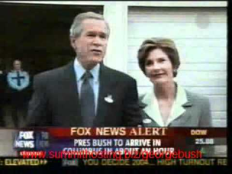 George W. Bush: Uso de Persuasion subliminal en dia de eleccion