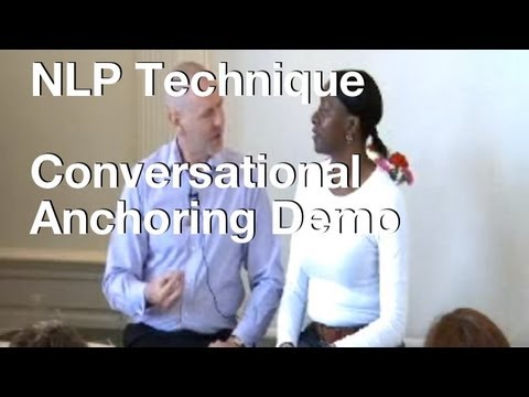 Elegant NLP Conversational Anchoring Demo