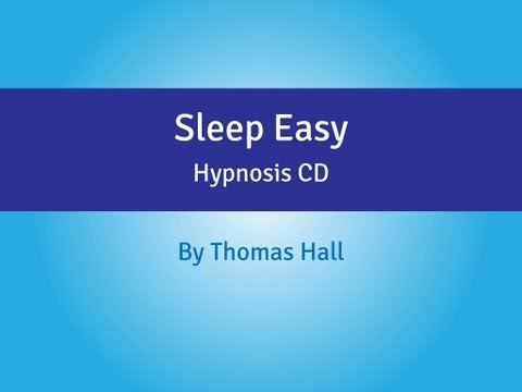 Sleep Easy – Hypnosis CD – By Thomas Hall