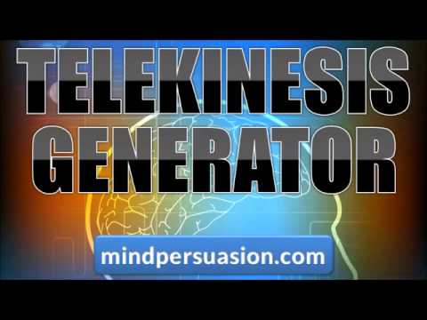 Telekinesis with Subliminal Programming   256 Voices
