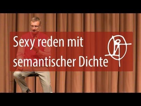 NLP Verführung : sexy reden mit semantischer Dichte