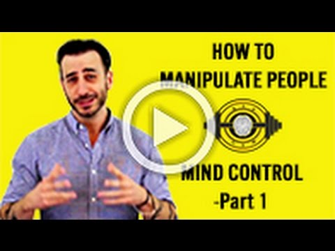 How To Manipulate People – NLP Mind Control – Part 1