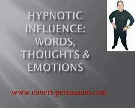 Hypnotic Words, Thoughts & Feelings to Create Powerful Subliminal Messages