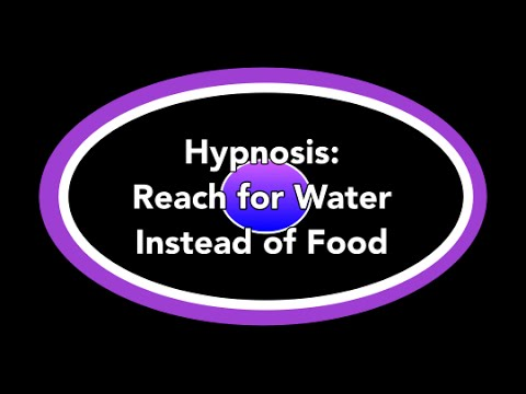 Hypnosis: Reach for Water Instead of Food (Sherree Etter, Hypnotist, Dayton OH)