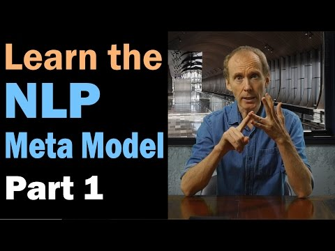 Learn the NLP Meta Model and challenge everything for the truth. Part 1/12