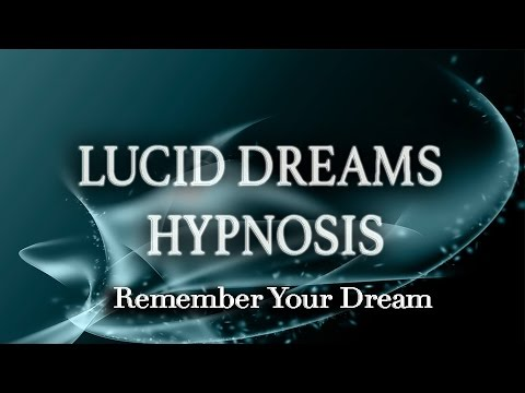 LUCID DREAMS HYPNOSIS – DEEP SLEEP & REMEMBER YOUR DREAMS