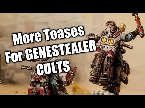 "More Teases for GENESTEALER CULTS: Codex ""Gene-Sects"""