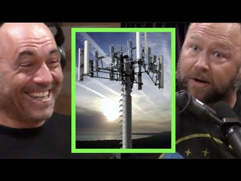 Alex Jones – Cell Towers Are Used For Mind Control!! | Joe Rogan