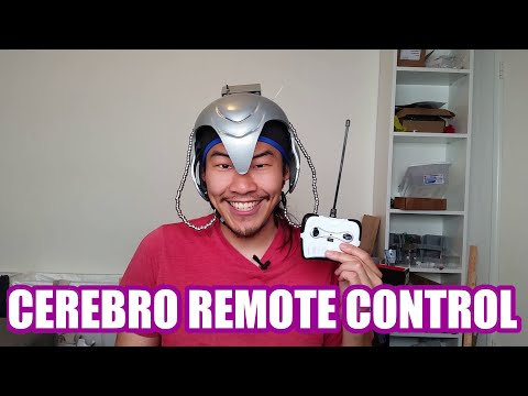 Mind Control Cerebro Helmet from X-men (Galvanic Vestibular Stimulation) | Sufficiently Advanced
