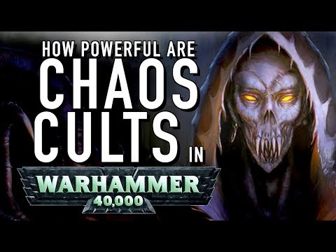 40 Facts and Lore on Chaos Cults in Warhammer 40K