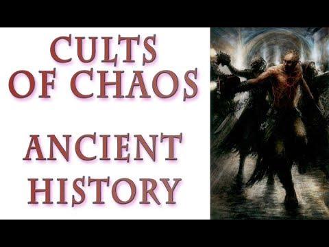 Warhammer 40k Lore – Chaos Cults, Ancient History