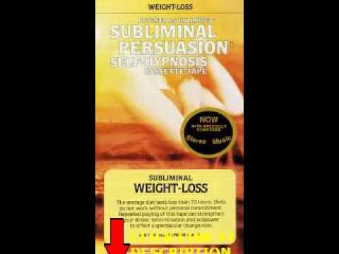 Get Weight Loss: A Subliminal Persuasion Self Hypnosis
