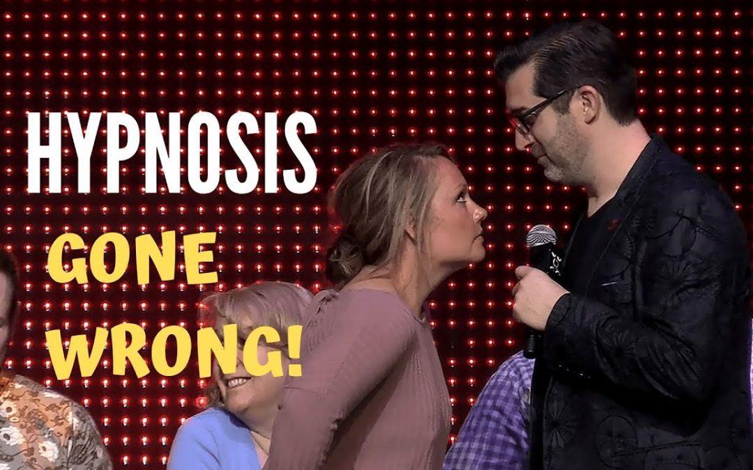 Hypnosis Gone Wrong  – Volunteer Spotlight – Chrystal