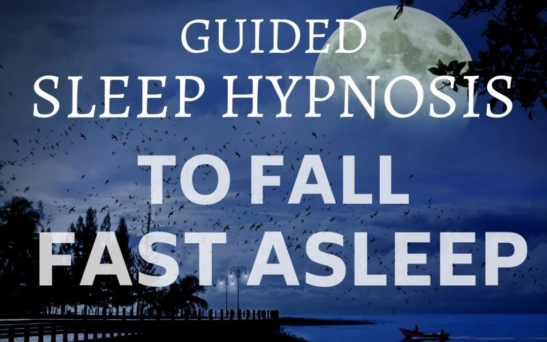 GUIDED SLEEP HYPNOSIS TO FALL FAST ASLEEP with DELTA WAVE Brain Entrainment