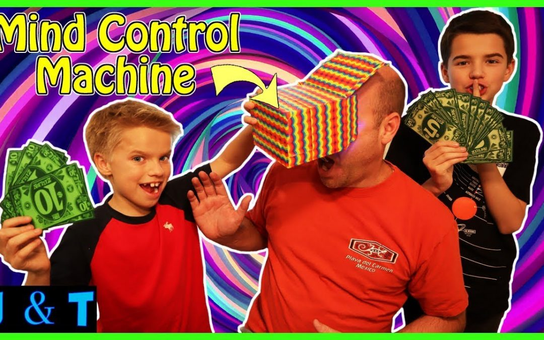 Boys In Charge! We Use Our Mind Control Machine To Get Anything We Want! / Jake and Ty