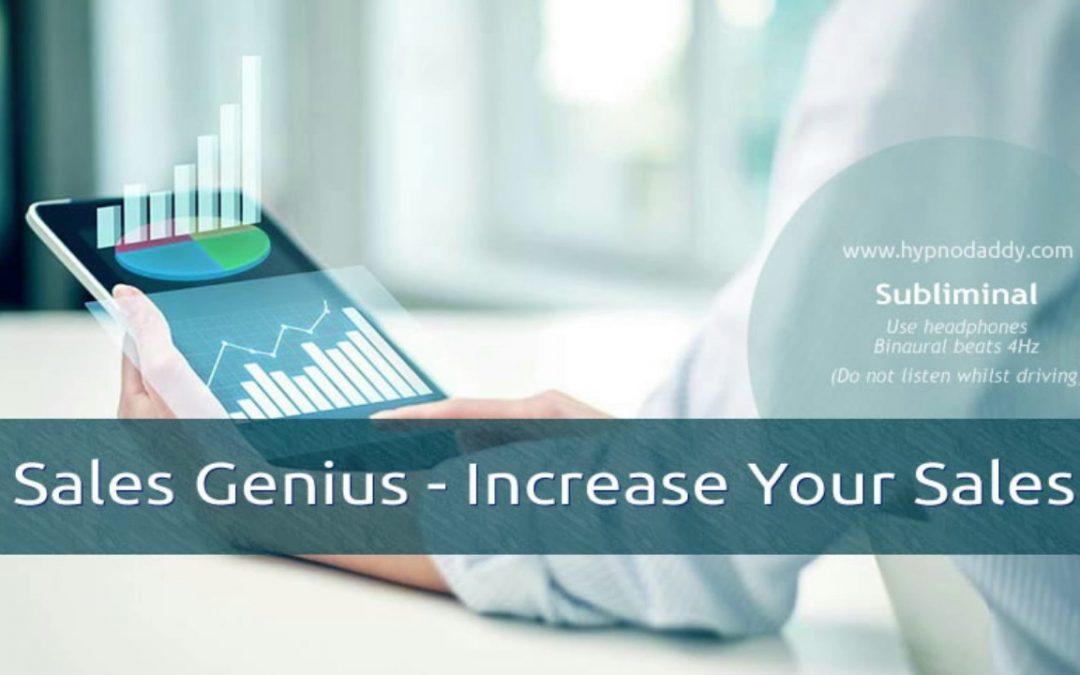 Sales Genius – Increase Your Sales Subliminal