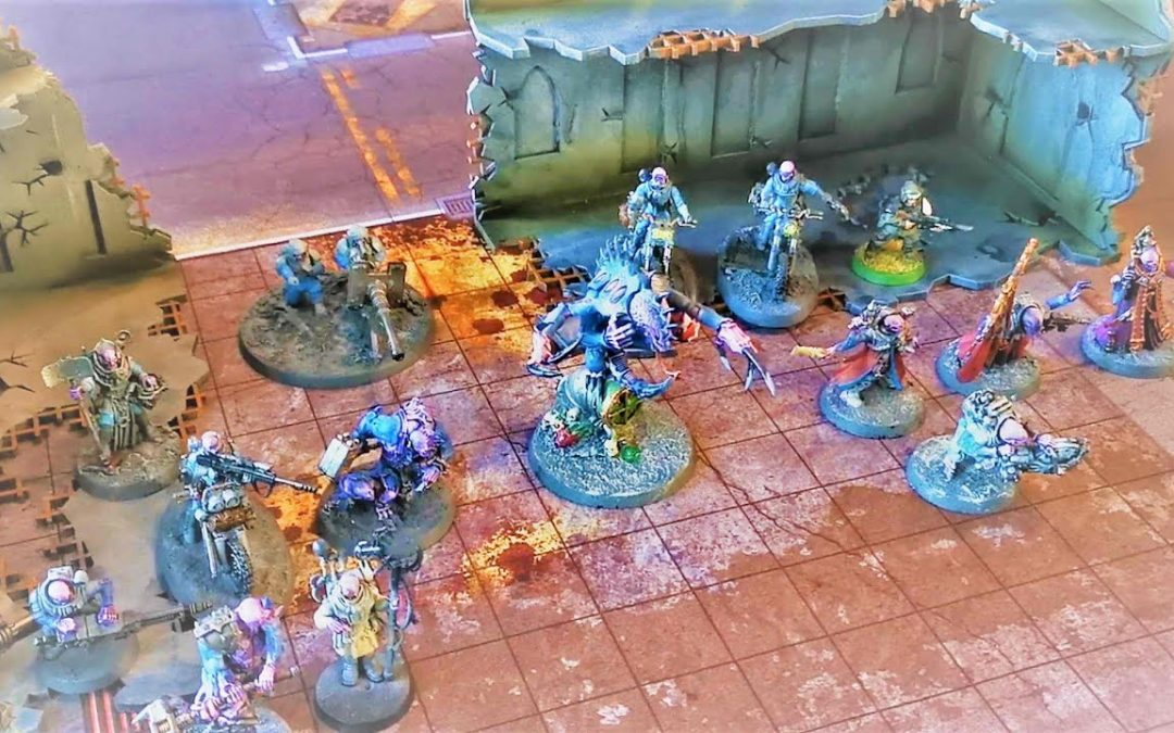 Warhammer 40k – Battlereport 375 – Genestealer Cults vs. Custodes (DE)