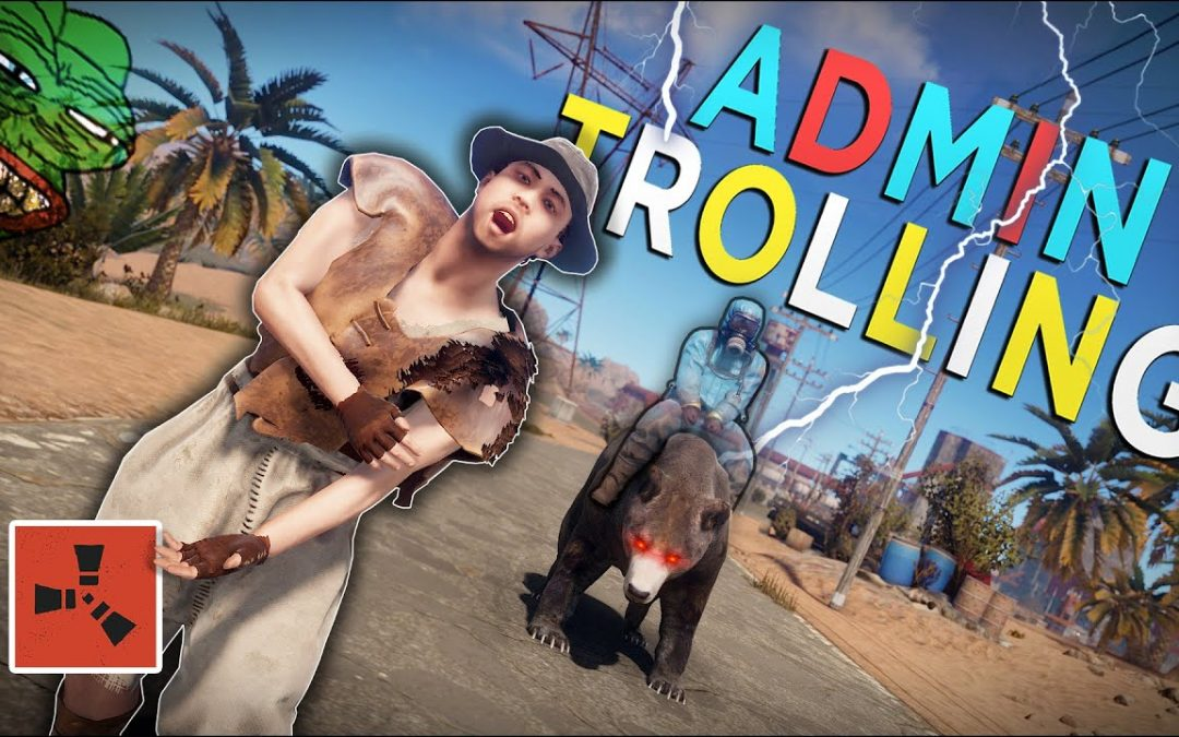 TROLLING MY ENTIRE SERVER USING MIND CONTROLLED ANIMALS! – Rust