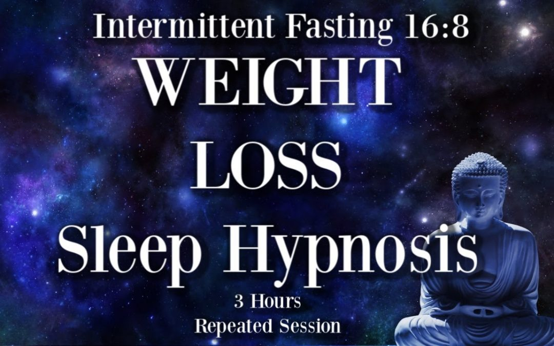 😴 3 hours Weight Loss Sleep Hypnosis ~ Intermittent Fasting 16:8 ~ Female voice of Kim Carmen Walsh