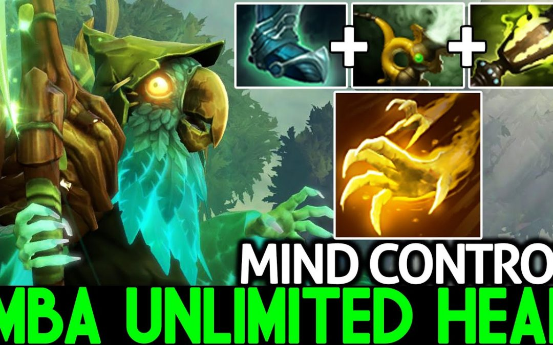MIND CONTROL [Necrophos] Imba Unlimited Healing Pro Offlane Dota 2