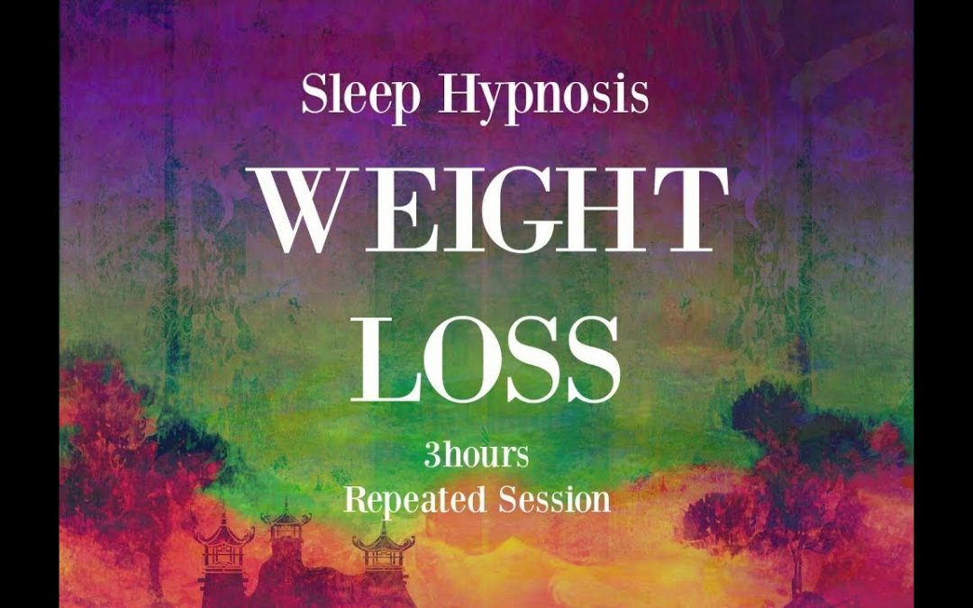 😴 3 hours repeated loop ~ Sleep hypnosis for weight loss with mindful awareness ~ Female Voice