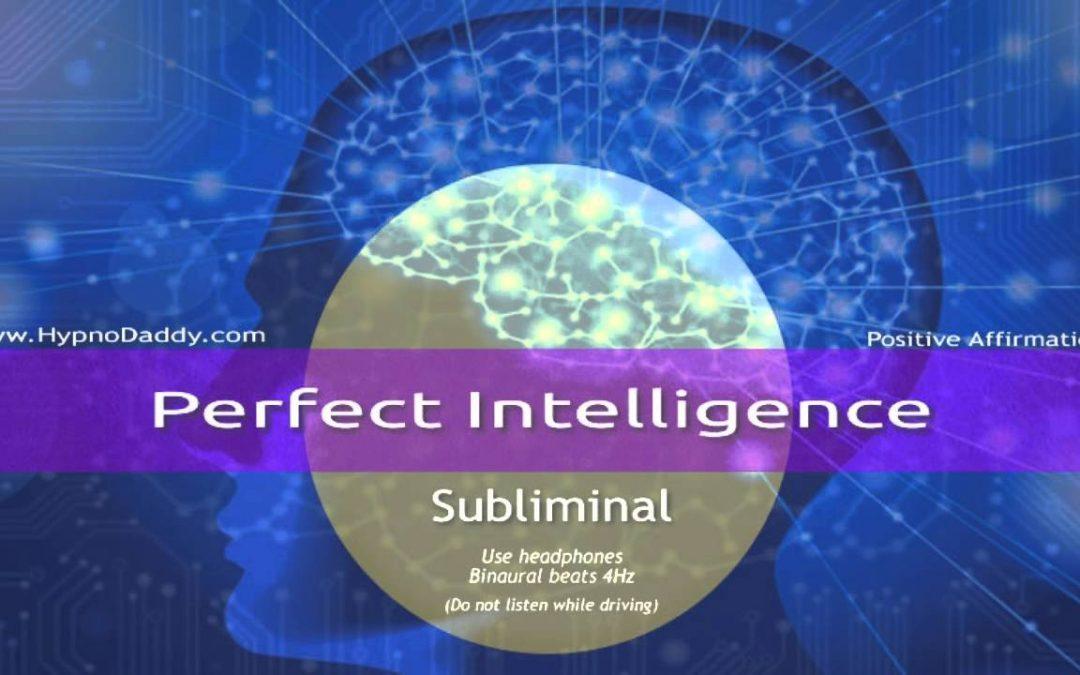 Perfect Intelligence Subliminal