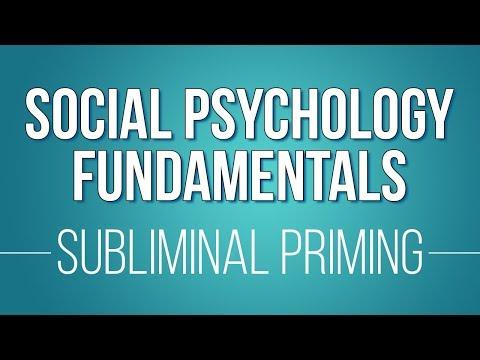 06 Subliminal Priming (Learn Social Psychology Fundamentals)