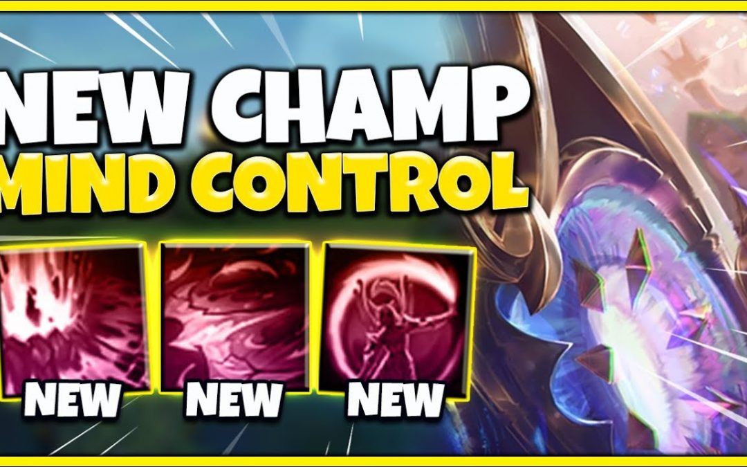 NEW CHAMPIONS REVEALED! MIND CONTROL MAGE, MUNDO VGU REWORK + JUNGLE & SUPPORT! – League of Legends