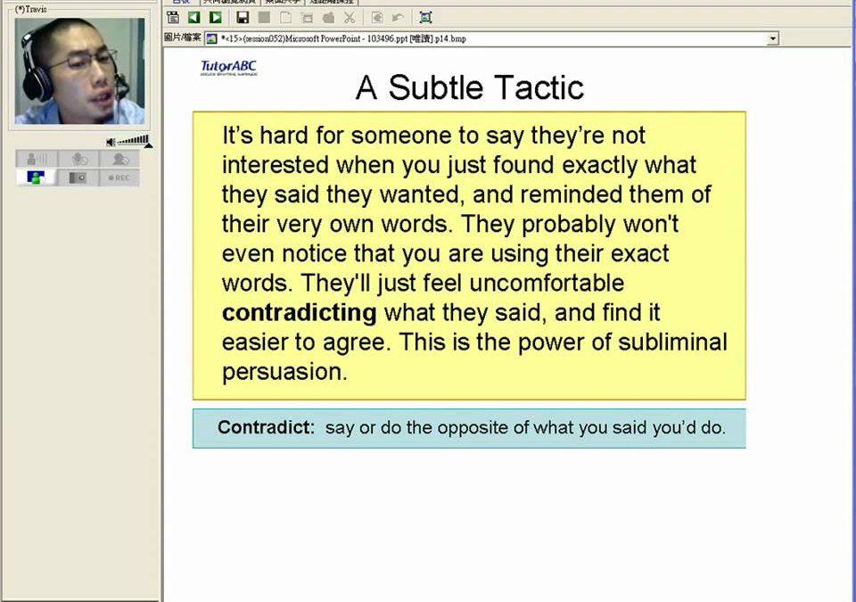 TutorABC商業萬事通:英文商務談判,如何說服對方是一門必學的學問喔