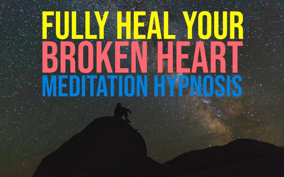 Broken Heart Sleep Hypnosis | Letting Go of Past Relationships | Guided Meditation | Hypnotherapy