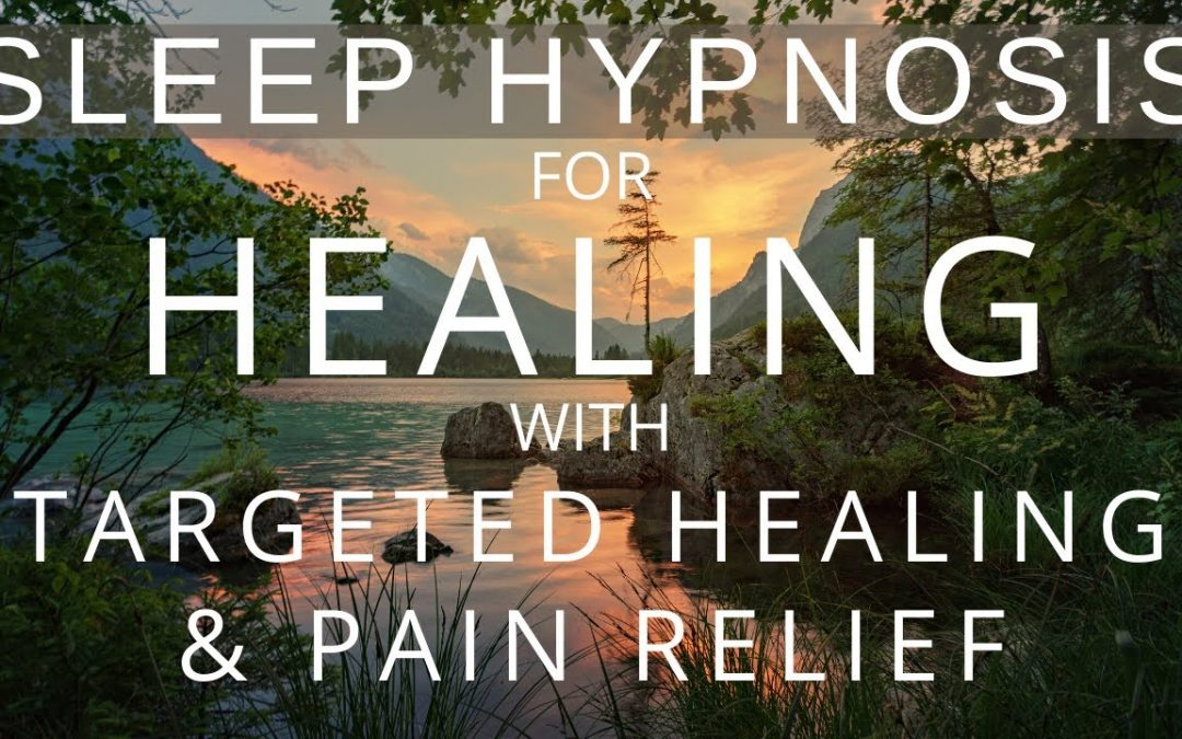 Sleep Hypnosis with Pain Relief & Targeted Body Healing (Heal your Body Sleep Meditation)