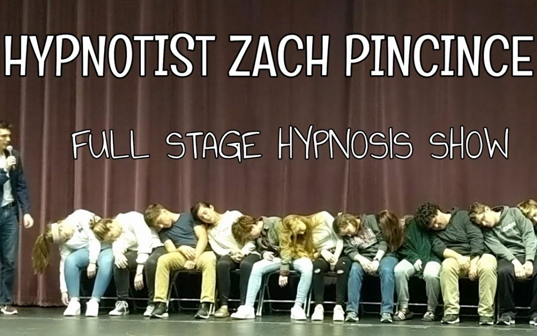 Zach Pincince Complete Stage Hypnosis Show | Full Uncut Performance at Saint Anselm College